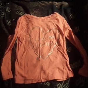 Girls 3T long sleeved shirt